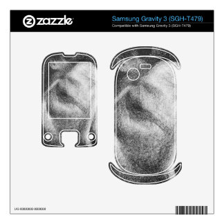 The Sleeper by Georges Seurat Samsung Gravity 3 Decal