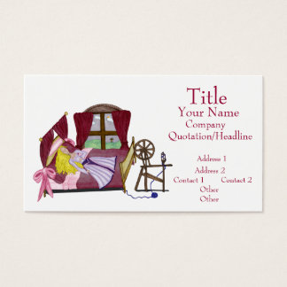 The Sleeping Beauty Business Card