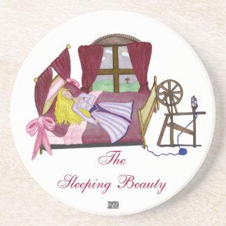 The Sleeping Beauty Drink Coaster