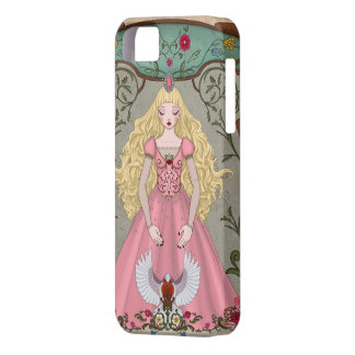 The sleeping beauty iPhone SE/5/5s case