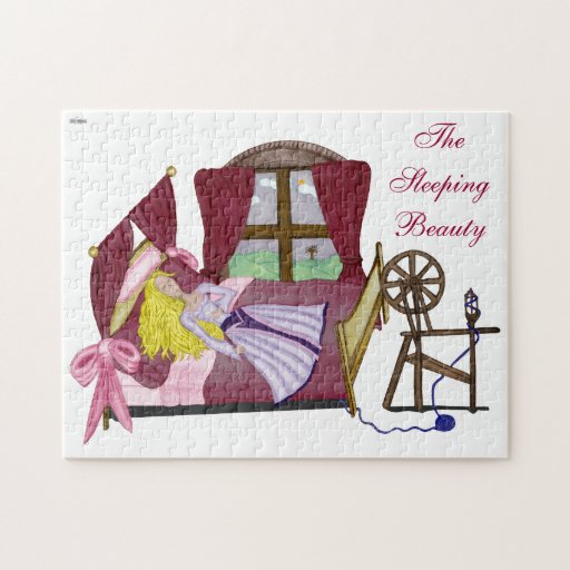 The Sleeping Beauty Jigsaw Puzzle