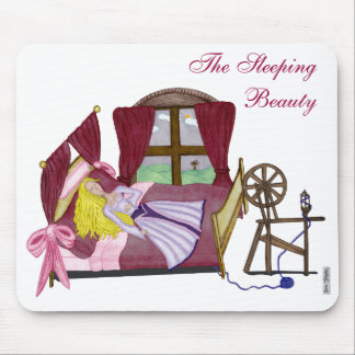 The Sleeping Beauty Mouse Pad