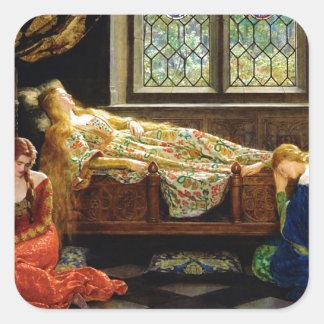 The Sleeping Beauty Square Sticker
