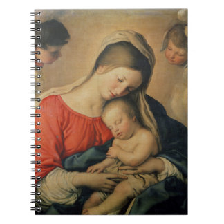 The Sleeping Christ Child (oil on canvas) Notebook