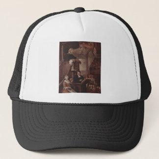 The sleeping church by William Hogarth Trucker Hat