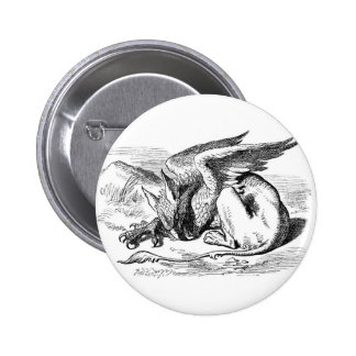 The Sleeping Gryphon Pinback Button