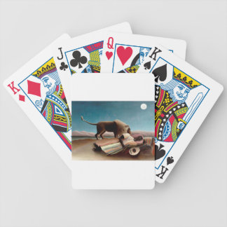 The Sleeping Gypsy Bicycle Playing Cards
