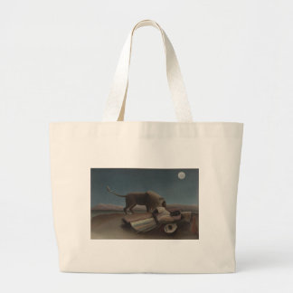 The Sleeping Gypsy by Henri Rousseau Tote Bags