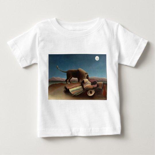 The Sleeping Gypsy, Henri Rousseau Baby T-Shirt