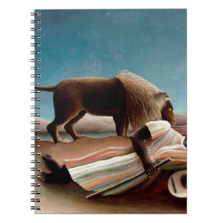 The Sleeping Gypsy Notebook