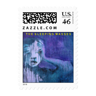 The Sleeping Masses USPS Approved 1st Class Stamp