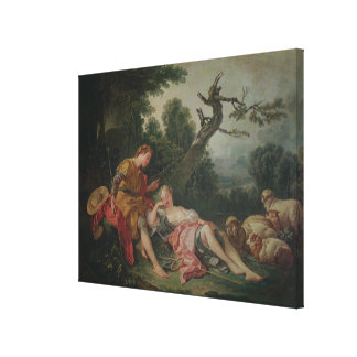 The Sleeping Shepherdess Canvas Print