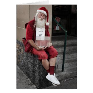 The sleigh Broke Down Card