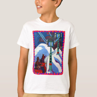 The Sleigh Ride by Ernst Ludwig Kirchner T-Shirt