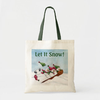 The Sleigh Ride Tote Bag