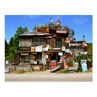 The Sluice Box in Idaho City, Idaho Postcard