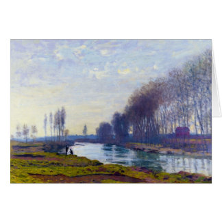 The Small Arm of the Seine at Argenteuil Card