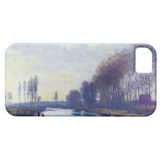 The Small Arm of the Seine at Argenteuil iPhone 5 Cases