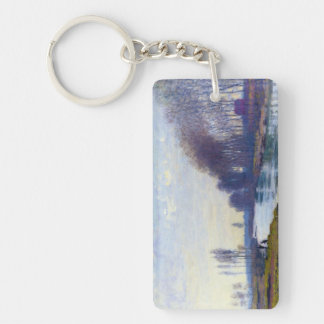 The Small Arm of the Seine at Argenteuil Keychain
