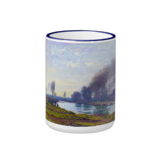 The Small Arm of the Seine at Argenteuil Ringer Coffee Mug