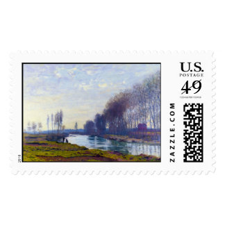 The Small Arm of the Seine at Argenteuil Postage