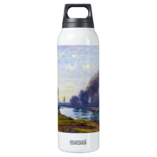 The Small Arm of the Seine at Argenteuil 16 Oz Insulated SIGG Thermos Water Bottle