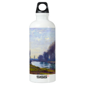 The Small Arm of the Seine at Argenteuil Water Bottle
