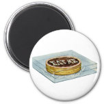 The Small Cake Said Eat Me, So Alice Did! 2 Inch Round Magnet