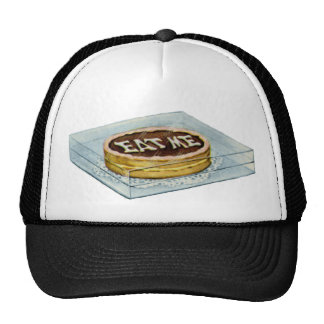 The Small Cake Said Eat Me, So Alice Did! Trucker Hat