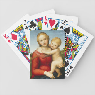 The Small Cowper Madonna, c.1505 (oil on panel) Bicycle Playing Cards