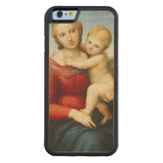 The Small Cowper Madonna, c.1505 (oil on panel) Carved® Maple iPhone 6 Bumper Case