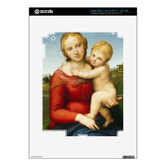 The Small Cowper Madonna, c.1505 (oil on panel) Decals For iPad 3