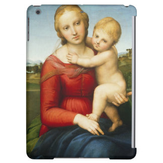 The Small Cowper Madonna, c.1505 (oil on panel) iPad Air Cases