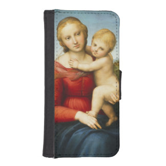 The Small Cowper Madonna, c.1505 (oil on panel) iPhone SE/5/5s Wallet Case
