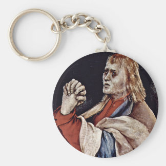 The Small Crucifixion: Christ On The Cross, Mary M Key Chain