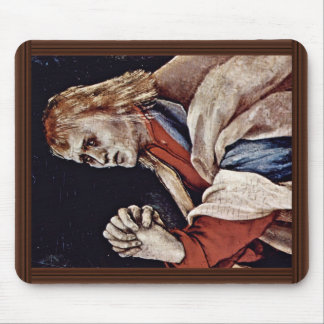 The Small Crucifixion: Christ On The Cross, Mary M Mouse Pad