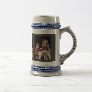 The Small Crucifixion: Christ On The Cross, Mary M Coffee Mugs