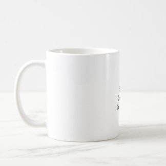 The Small Cushion Company Classic White Coffee Mug