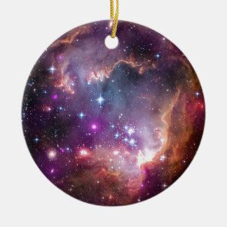 The Small Magellanic Cloud Ceramic Ornament