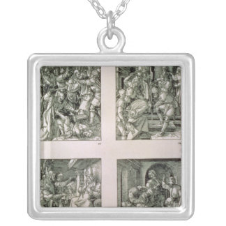 The 'Small Passion' series Square Pendant Necklace