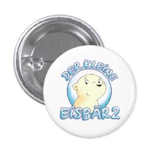The small polar bear 2 pinback button