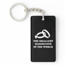 The Smallest Handcuffs in the World Keychain