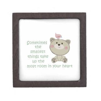 THE SMALLEST THINGS PREMIUM JEWELRY BOX