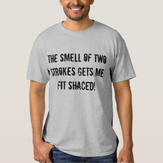 """""""The Smell of Two Strokes"""" Sledders.com T-shirt"""