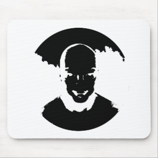 The smile mouse pad