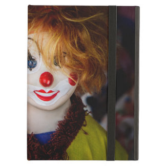 The smile on a clown toy cover for iPad air