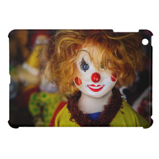 The smile on a clown toy cover for the iPad mini