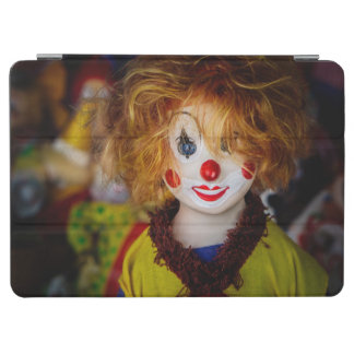 The smile on a clown toy iPad air cover