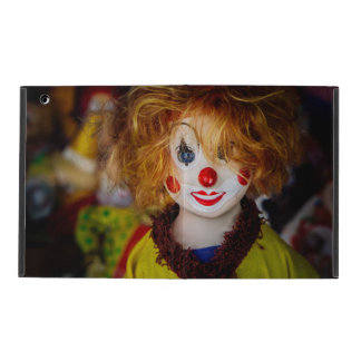 The smile on a clown toy iPad case