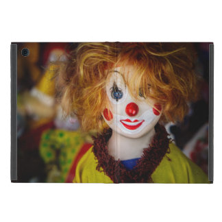 The smile on a clown toy iPad mini case
